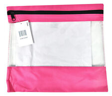 Craft Caddy Bag 13 Inch By 12 Inch Hot Pink