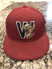 Wisconsin Timber Rattlers Fitted New Era 5950 Cap Hat 7 1/4 Made In USA NWT