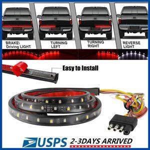 "49"" inch LED Truck Strip Tailgate Turn Signal Brake Tail Rear Reverse Light Bar"