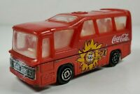 Majorette Red No 262 Coca-Cola Minibus 1:64 Scale Diecast Toy Vehicle No COO