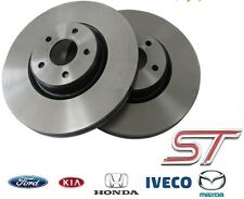 New! GENUINE FORD FOCUS ST225 front BRAKE DISCS direct supply from FORD UK!