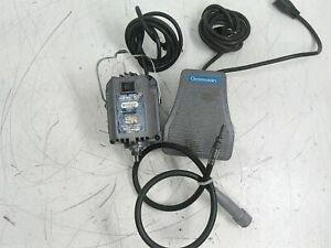 Foredom SR 18,000 RPM Flexible Shaft Motor with SCT-1 Foot Pedal Defective AS-IS