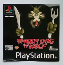 ***FRONT INLAY ONLY*** Sheep Dog N Wolf Playstation One 1 PSOne PS1 PS