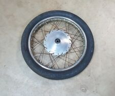 1975 Honda CL360  FRONT WHEEL rim 18in hub drum brake CB360 CL 360