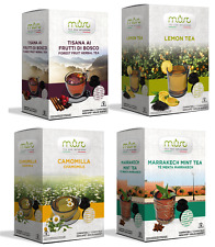 64 MUST Dolce Gusto Compatible Mixed Pack Tea machine capsules (4 x 16)
