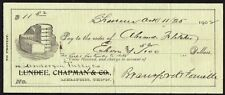 Cheque - US - State National Bank, 1902