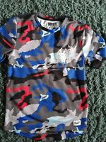 SONNETI BLUE CAMOFLAUGE T SHIRT AGE 10 TO 12  YEARS