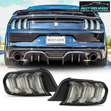 Multi-Model Full LED Tail Lights For 2015-2019 Ford Mustang Clear Rear Lamps