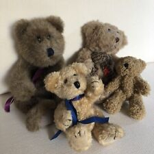 Job Lot Of Four Teddy Bears (incl One 'Gotta Get A Gund) -  Excellent Condition
