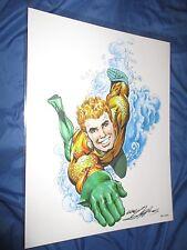 NEAL ADAMS Signed DC Comics Art Print ~Aquaman (Movie/JLA/Justice League)