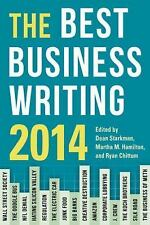 The Best Business Writing 2014 (2014, Paperback) Columbia Journalism
