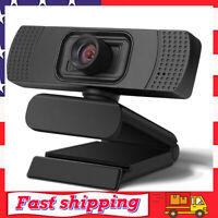 1080P HD Webcam for Desktop Laptop Web Camera Living Streaming Webcam w/ Mic