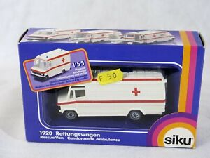 SIKU N° 1920 Truck Mercedes Ambulance Rettungswagen 1:55 New Box / Boxed