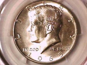 1965 P Kennedy Half Dollar PCGS MS 64 81631830
