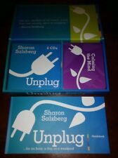 UNPLUG BY SHARON SALZBERG FOR AN HOUR, DAY OR WEEKEND INTERACTIVE KIT MEDITATION
