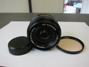 Minolta MD W. Rokkor 3,5  / 28  mm Objektiv für analoge Minolta MD Modelle
