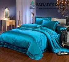 19MM Heavy Weight  Seamless Silk 4 pcs Sheets Set-Pillowcases,Fitted, Flat Sheet