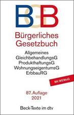 Bürgerliches Gesetzbuch - BGB | Taschenbuch | dtv-Taschenbücher Beck Texte