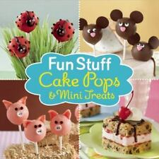 NEW~Fun Stuff Cake Pops and Mini Treats -plus cookies fudge parfait whoopie pies
