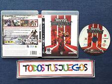 Unreal Tournament III Playstation 3 Pal ES BUENA CONDICION