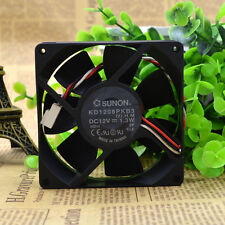 SUNON KD1208PKB3 Cooling Fan DC 12V 1.3W 80mm x 80mm x 20mm