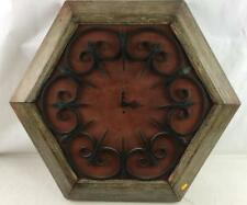 Kuykendall Studios Hand Wrought Iron Wall Clock Lot 2003