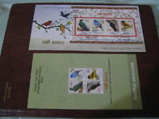 India 2016 Miniature Sheet FDC on Threatened Birds- Limited Edition MNH
