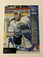 1997-98 Upper Deck Collector's Choice World Domination #W19 Curtis Joseph Card