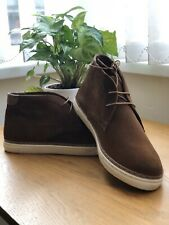 Mens Next Classic Suede Chukka Desert Chelsea Lace Up Ankle Boots UK 11.5 EUR 46