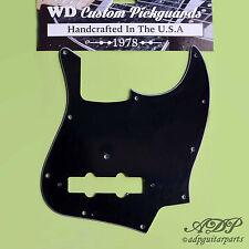 PICKGUARD JAZZ BASSE 3ply BLACK/W/B J-Bass Vintage 20fret 70-80's WD JB-303