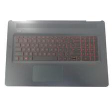 Genuine HP Omen 17-W Laptop Palmrest Keyboard & Touchpad 862972-001