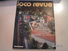 **j Loco Revue n°439 BB 63000 / Penne / Poste d'aiguillage en réalité et en N