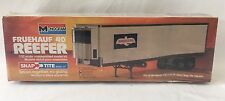 Vintage Monogram Fruehauf 40' Reefer Birds Eye 1/32 Snap Tite Model Kit - Sealed