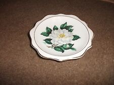 ROYAL ALBERT CHINA PIN DISH-EXC COND-APPEARS UNUSED-FLORAL DESIGN BY A. WAGG