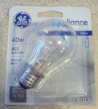 Lot of 12 GE 15206-12 40-Watt Appliance Light A15 Light Bulbs Case