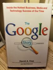 """The Google Story"" by David A. Vise 2005 1st Edition 1st Printing HB DJ VGC!!"