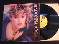 Madonna - Angel - 1985 Vinyl 12'' Single/ VG+/ Pop Rock AOR