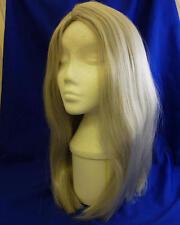 "18"" Long Grey Wig Wizard Princess Unisex Halloween Fancy Dress"