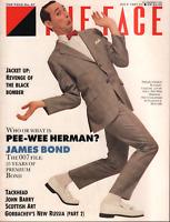 The Face UK Magazine July 1987 Pee Wee HermanEamonn J McCabe 061520AME
