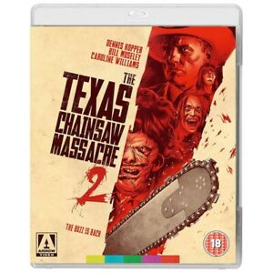 The Texas Chainsaw Massacre 2 Brand New and Sealed Blu-Ray Disc Arrow Video