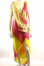 Sass & Bide The Peach Poetry Ombre Maxi Wrap Dress Size Euro 38 AU/UK 8 BNWT