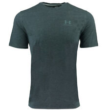 Under Armour Men's Charged Cotton Left Chest Lockup T-Shirt Black/Steel M