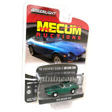 GREENLIGHT 37140 B MECUM AUCTIONS SERIES 2 1970 DATSUN 240 Z 1/64 GREEN Chase