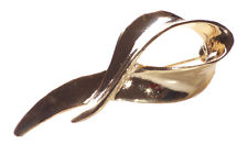Sophisticated & Vintage Inspired-golden Swirl/easy Pin Back Metal Brooch(Zx218)