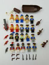 Lego Mini Figure Minifig Pirate Captain Imperial Solider Cannon Accessories