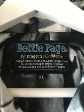 Mens Dragonfly Bettie page  Shirt XL