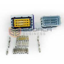1x 24-pin ECU Repair Connector Male & Female Plug Pigtail harness Repair Wiring