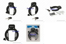Bicycle Frame Lock With 2 Keys Bike Security Anti Theft Safe Ring Style Retro