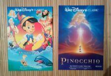 2 carte postale cinéma Pinocchio Walt Disney