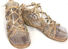 Reaction Kenneth Cole Girls Studded Gladiator Sandals Sz.(2)